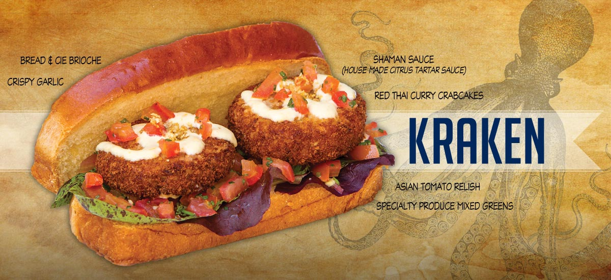 Kraken - Thai Curry Crabcakes