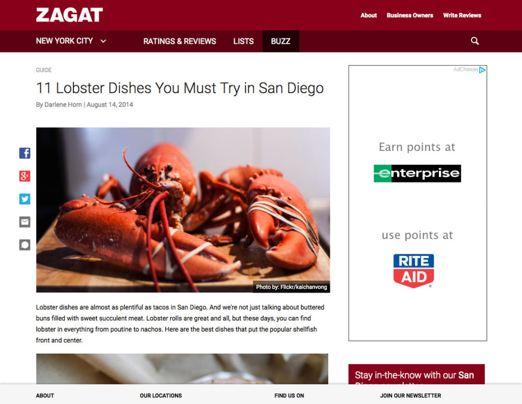 11 Lobster Dishes You Must Try in San Diego
