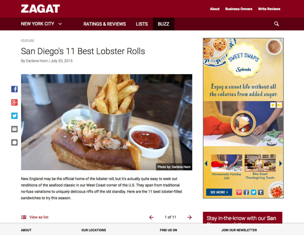 San Diego's 11 Best Lobster Rolls
