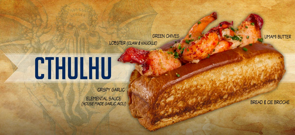 Cthulhu - Lobster Roll with Umami Butter